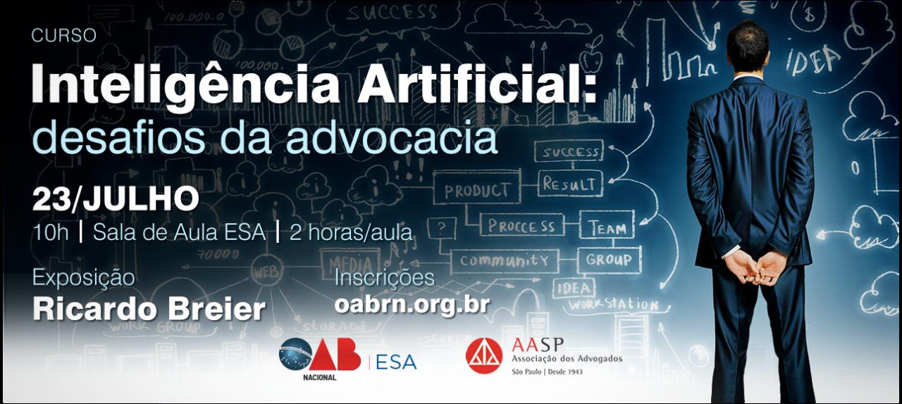 AASP - Inteligência artificial - Desafios da Advocacia