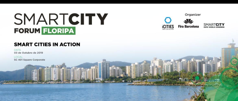 Resultado de imagem para Smart City Fórum Floripa - Cidades Inteligentes