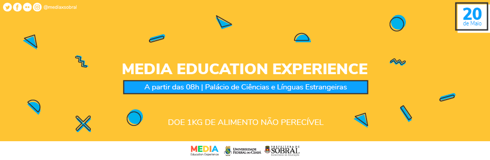 I Media Education Experience (MEDIAx  - Sobral)