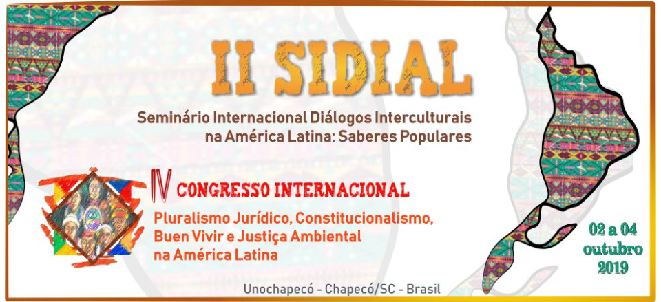 II SIDIAL e IV CONGRESSO INTERNACIONAL