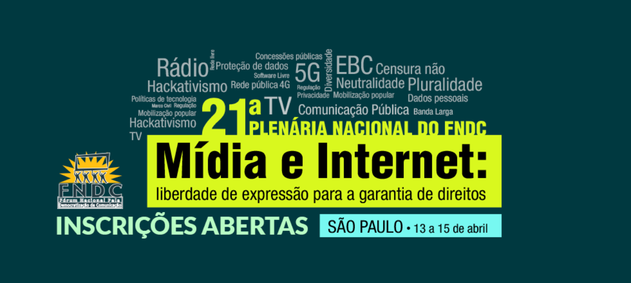 21ª Plenária Nacional do FNDC