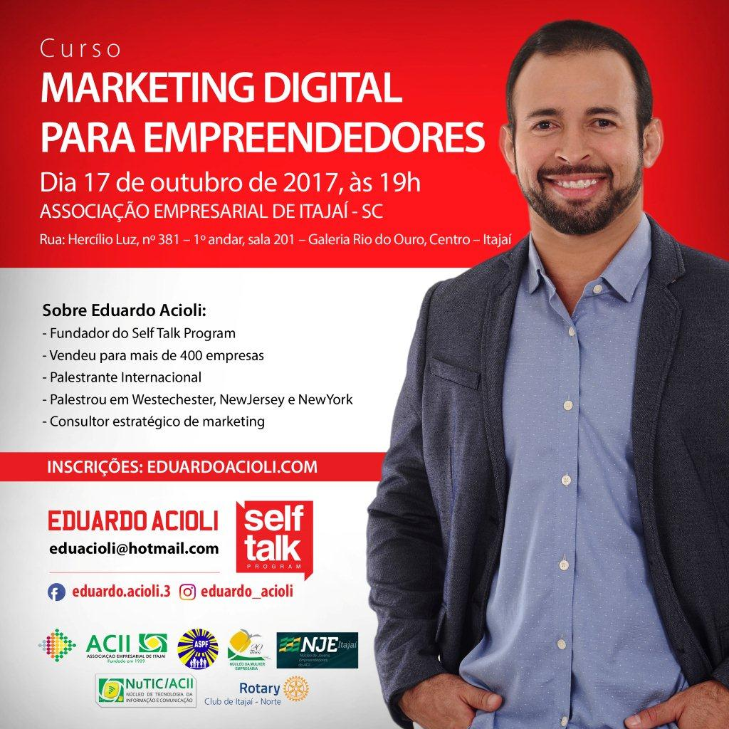 MARKETING DIGITAL PARA EMPREENDEDORES - ITAJAÍ